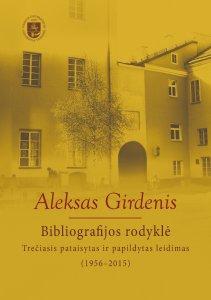 Aleksas Girdenis: bibliografijos rodyklė (1956-2015)