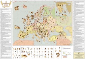 The Map of Mythical Creatures in Europe