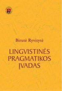 Lingvistinės pragmatikos įvadas